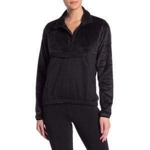 Adidas NEW Super Soft Black Athletic Jacket NWT
